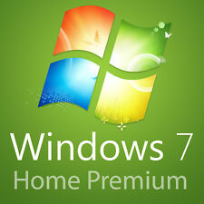 Microsoft Windows 7 Home Premium 32/64 bit versione completa licenza MS 1pc