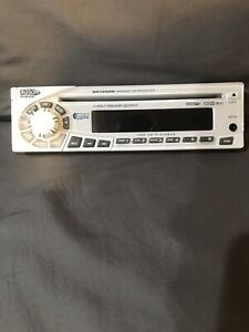 Boss MR 1400W  MARINE Boat CD Player Receiver Face Plate Only - White