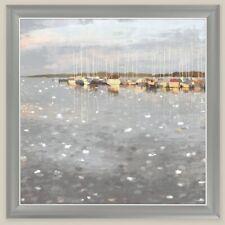 John Lewis Charlotte Lunettes Marina Sunset encadrée Toile 80 cm x 80 cm B +