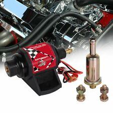 Universal 42s Micro Electric Fuel Gasoline Pump 2-3.5PSI Low Pressure 28 GPH 12V