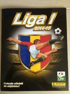 Panini Liga I Romania 2014-15 Empty Album (Mint)