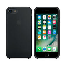 Apple iPhone 7 custodia Silicone Nera