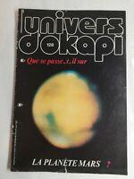 N53 Rivista Universo Okapi N° 128 che Compare Si Accadendo Sul La Planet Mars