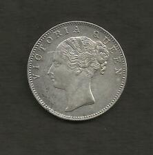 1840 ONE RUPEE QUEEN VICTORIA SILVER COIN CONTINUOUS LEGEND #3