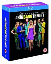 THE BIG BANG THEORY Complete Seasons 1-10 [Blu-ray Box Set] Series Collection