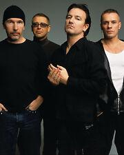 Rock Group - U2, 8x10 Color Photo