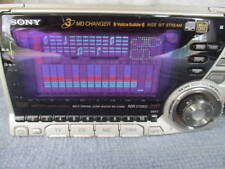 SONY WX-C70MD MD/CD Tuner w/3 sequential MD changer