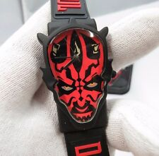 "STAR WARS Episode 1, Darth Maul Head, 3-D ""Ultra Rare"" Mens/Boys Watch NIB R16-2"