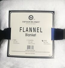 New Ultra Soft Flannel Plush King Size Velvet Cozy Blanket Snow White 86X94�