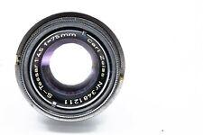 Vintage Carl Zeiss S-Tessar 75mm 1:4,5 repro/macro lens