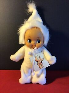 Kewpie doll. Vintage. Snow suit. 22cm high with hand made outfit
