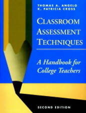 Classroom Assessment Techniques: A Handbook for College Teachers-ExLibrary
