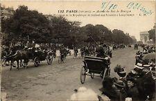 CPA PARIS 16e-Avenue du Bois de Boulogne-Le President de la République (326288)