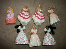 7 BARBIE MCDONALD HAPPY MEAL TOYS