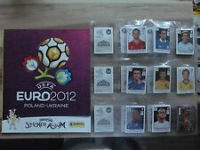 PANINI EURO 2012 EM 12 INTERNAT. VERSION *KOMPLETTSET COMPLETE SET*EMPTY ALBUM