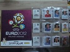 Panini Euro 2012 EM 12 internat. Version * Ensemble Complet Complete Set * EMPTY ALBUM