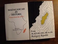 2 BOOKS ON MADAGASCAR IN HISTORY ESSAYS FROM 1970'S & TO THE MALAGASY REPUBLIC