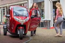 FÜHRERSCHEINFREI, MOVE Elektro-Leichtkfz Elektroauto Kabinenroller 25 km/h NEU