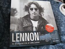 "JOHN LENNON CD MEMORABILIA BOX SET ""LENNON LEGEND: AN ILLUSTRATED LIFE..."" HENKE"
