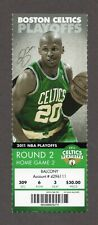 2011 Shaquille O'Neal LAST GAME PLAYED 5/9 Celtics Heat Playoffs Full Ticket