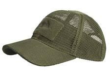 Gorra beisbol rejilla verde oliva táctica contratista militar caza Helikon