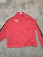 Nike Lancers EU Zip Jacket Red Vintage size Large
