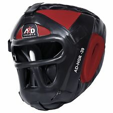 ARD CHAMPS™ Protector Guard Wrestling Helmet Head Gear Boxing MMA UFC Rugby- Red