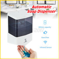 Kitchen Bathroom Automatic Infrared Motion Sensor Hand Liquid Soap Dispenser AU