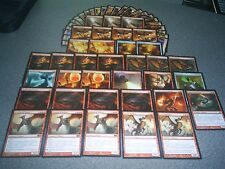 MTG Magic EXTENDED SCOURGE OF VALKAS DECK Slumbering Dragon EGG Mythic RARE LOT