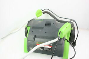 Greenworks 27022 Corded Dethatcher 10 Amp 14 Inch Green Electric w Manual
