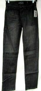 Hot Topic Rude Mens 24x34 Button Fly Straight Leg Slim Jeans J1 41