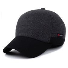 Winter Cap Hats For Men Baseball Soft Warm Cotton Head Wear Accessories Beret