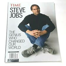 TIME STEVE JOBS Magazine The Genius Who Changed Our World