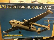 NORD 2502 NORATLAS U.A.T. 1/72 Scale By Heller / Humbrol MIB