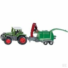 SIKU Fendt Favorit 926 Vario With Wood Chipper Super Scale Model Toy Gift