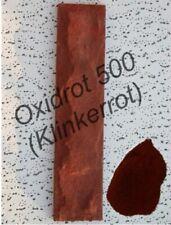 Klinkerrot Nr.500 (Oxidrot), Pulver-sehr rein, ergiebig