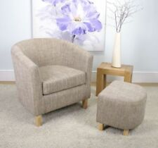 Walnut Living Room Modern Armchairs