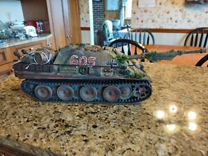 1/16 Heng Long Jagdpanther RC Tank Smoke Sound Airsoft Metal Upgrades Customized