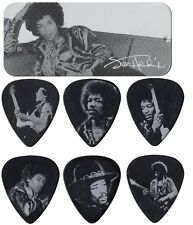 Jim Dunlop Jimi Hendrix Silver Ritratto PICK TIN 12 HEAVY Plettri jhpt 05 H