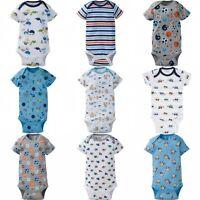 Gerber Onesies Baby Boys Bodysuit Assorted Graphic Newborn 0-3 3-6 6-9 12 Month