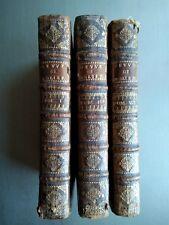 Les Œuvres de Monsieur de Molière - 3 vol/8 avec illustrations  (1710) - Rare