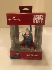 Hallmark Justice League Superman Christmas Tree Ornament Cake Topper Free Ship