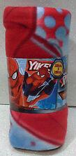 Marvel Plaid in pile Spiderman Manta Polar Fleece Blanket Uomo Ragno Spider Man