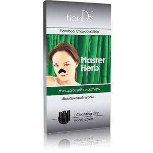 TianDe Bamboo Charcoal Strips Blachead Cleansing strips Nose Strips,1pc