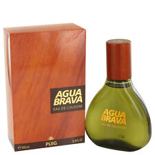 Agua Brava by Puig for Men EDC Eau de Cologne Spray 3.4 oz/100 ml, New in Box