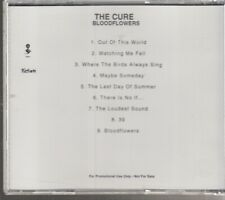 the cure bloodflowers cd promo