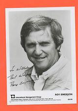 ORIG. autógrafo roy emerson (australia) - 70 mer cado // 12 grand slam título! top