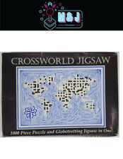 Crossword Jigsaw Puzzle Of The World- Make then fill in (Aussie Seller)