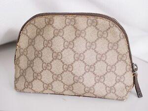 Gucci pouch accessory case GG mini bag woman Auth #4367P
