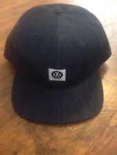 10 DEEP VERY DARK DENIM JEAN PRINT SNAPBACK !!!